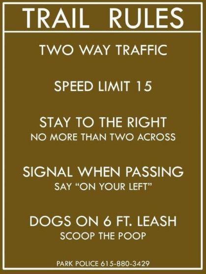 greenway rules
